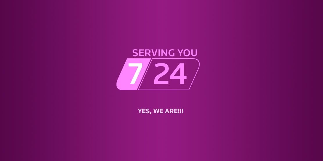 News: We Serving You 24-hour