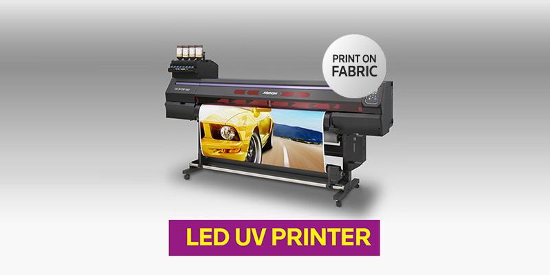 UV LED PRINTER : PRINT ON FABRIC