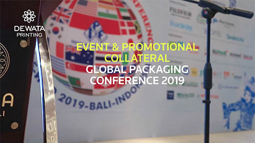 Event & Promotional Collateral Global Packaging Conference 2019